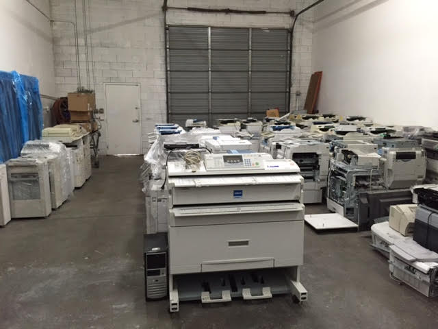 We have Many Printers/Copiers in Inventory to Choose From!