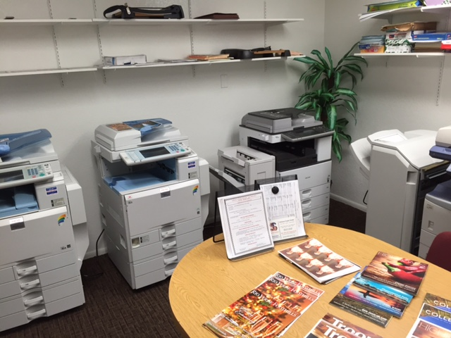 We Have Many New/Near New Copier/Printers in Our Showroom!